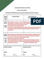 Format & Contoh Catatan Refleksi