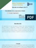 1.2 Mercadotecnia de Corporaciones Virtuales