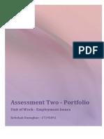 curriculum 1a assessment2 employment issues unit