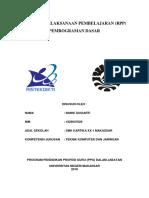 2. RPP Pemrograman Dasar KD 4