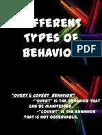 differentkindsofbehavior-131128013423-phpapp01