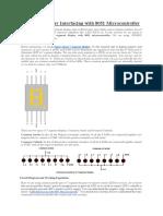 7 Segment Display Interfacing With 8051 Microcontroller