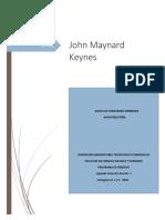 biografia John Maynard Keynes