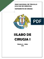 Silabo de Cirugia I-2018