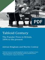Adrian Bingham, Martin Conboy_Tabloid Century