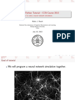 Network Python Tutorial2013