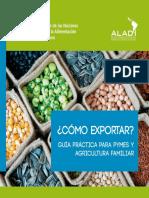 Libro Como Exportar ALADI FAO