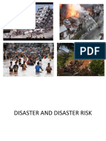 DISASTER AND DISASTER RISK.ppt