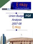 Emkay Budget