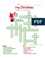 Christmas Crossword2