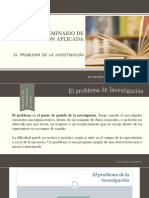 4. El Problema de La Investigación