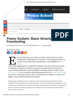 Power System_ Basic Structure and Functioning _ EE Power School