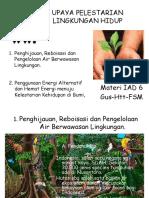 Iad Pelestarian Lingkungan Hidup II