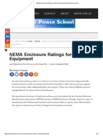NEMA Enclosure Ratings for Electrical Equipment _ EE Power School