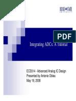 IntegratingADC Tutorial