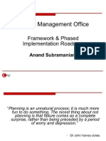 Project Management Office (Pmo) Converted
