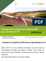 Ventajas de la plataforma ERP Selenne especializada en ITV
