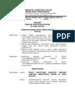 Panduan Identifikasi Pasien (Revisi)
