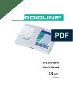 Cardioline ar1200view - User manual.pdf