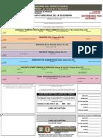 Formato Universal de la Tesoreria DF 2004