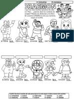 Divisiones Por Dos Cifras Doraemon