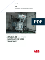 ABB-O&M manual for power transformers.pdf