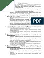 Kalimat Kerja Eselon IV Umum 2014