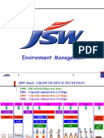 JSW Steel - Environment Management