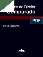 JERONIMO, Patricia, Licoes de Direito Comparado.pdf