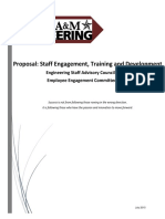 Employee Engagement Proposal