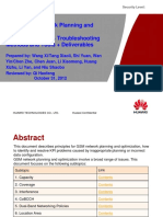 5 GSM Radio Network Planning and Optimization_Influence Factors + Troubleshooting Methods and Tools + Deliverables 20121031