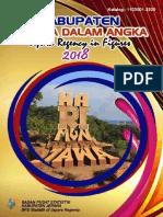 Kabupaten Jxxxxx Dalam Angka 2018