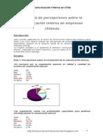 Encuesta comunicación interna en empresas chilenas