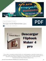 Descargar e Instalar Flipbook Maker 4 Pro
