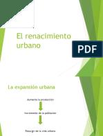El Renacimiento Urbano