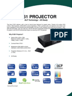 Acer X1261 3D Ready Projector