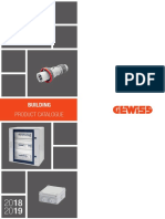 Gewiss BUILDING Product Catalogue 2018/2019