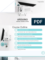 Arduino Training Course by Pragmaticedu - Mrsm