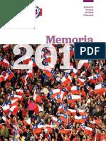 Memoria 2017 Anfp