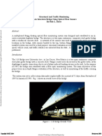 Structural and Traffic Monitoring
