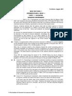 Mtp 1 Accounting Anwers