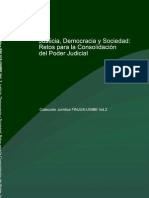 Justicia, Democracia y Sociedad