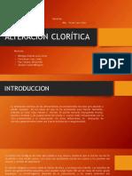 Alteracion Cloritica