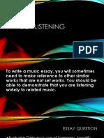 Wider Listening