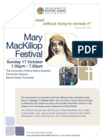 Mary Mackillop_A3 Poster