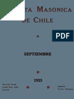 Revista masónica de Chile