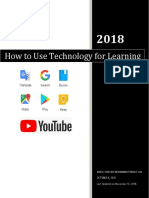 How to Use Technology for Learning - Abdul Hadi Bin Muhammad Firdaus Ooi - عبد الهادي بن محمد فردوس أُوِي