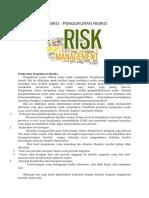 pengukuran manajemen risiko