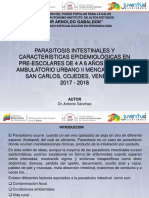Parasitosis Intestinal en Limoncito
