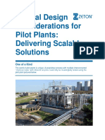 WHITE PAPER Special Design Considerations for Pilot Plants - PRINT
